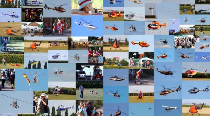 Hubschrauber Meeting Flugmodellclub Offenbach 11.08.2012