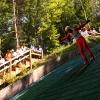 1. Sommerskispringen in Pfullingen Mattenschanzen am Ursulaberg 18.07.2010