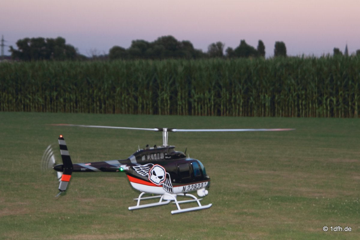 25 Jahre DMFV Hubschrauber in Offenbach