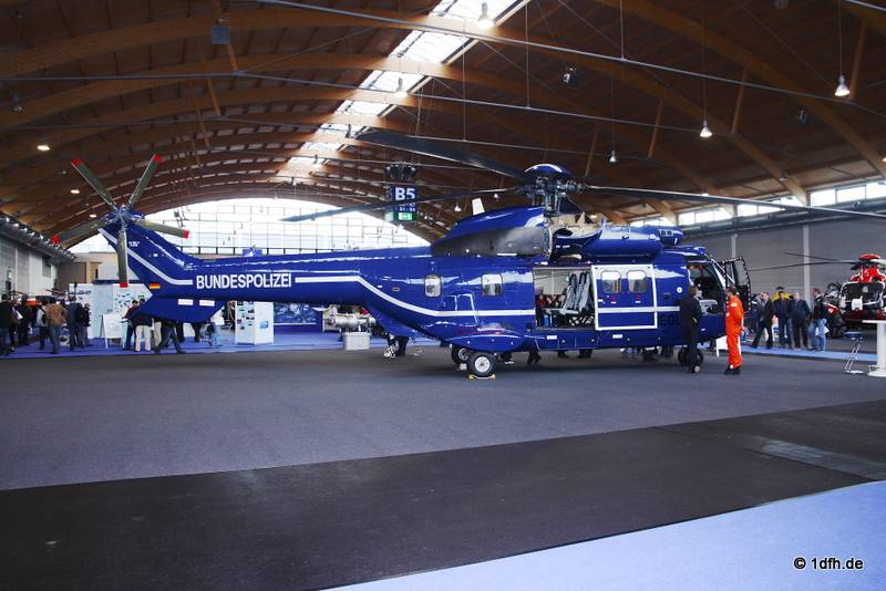 Super Puma, Bundespolizei, Aero 2011
