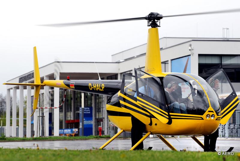 Robinson R44, viersitziger Reisehubschrauber
