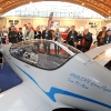 Halle A7-223: PC AERO, Elektro-Flugzeug Elektra Oneâ + Solar Hangar, AP: Calin Gologan bzw. Birgit Weissenbach, CEO PC AERO