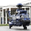 Freigelaende: Super Puma Zweiturbinen Helicopter der Bundespolizei.