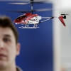 Aero Friedrichshafenhalle A1 Indoor-Helikopter