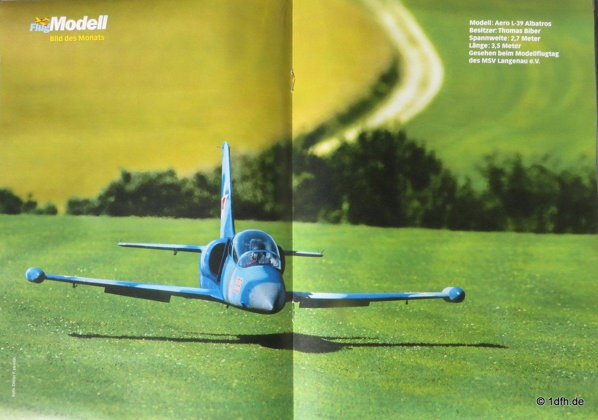 FlugModell 12/16 Aero L-39 Albatros