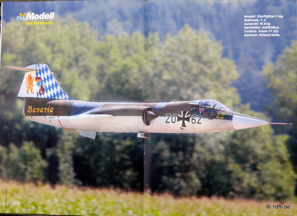 FlugModell 12/15 Starfighter F 104