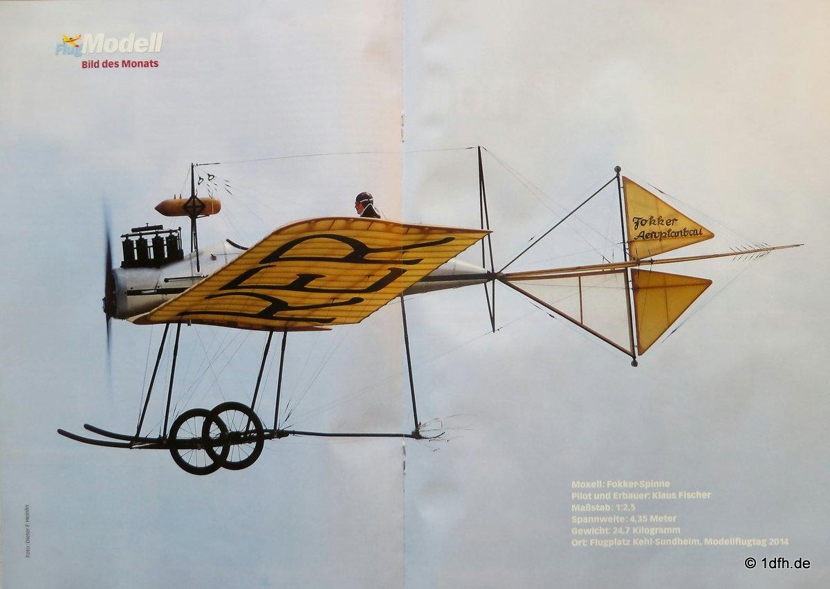 FlugModell 02/16 Fokker-Spinne