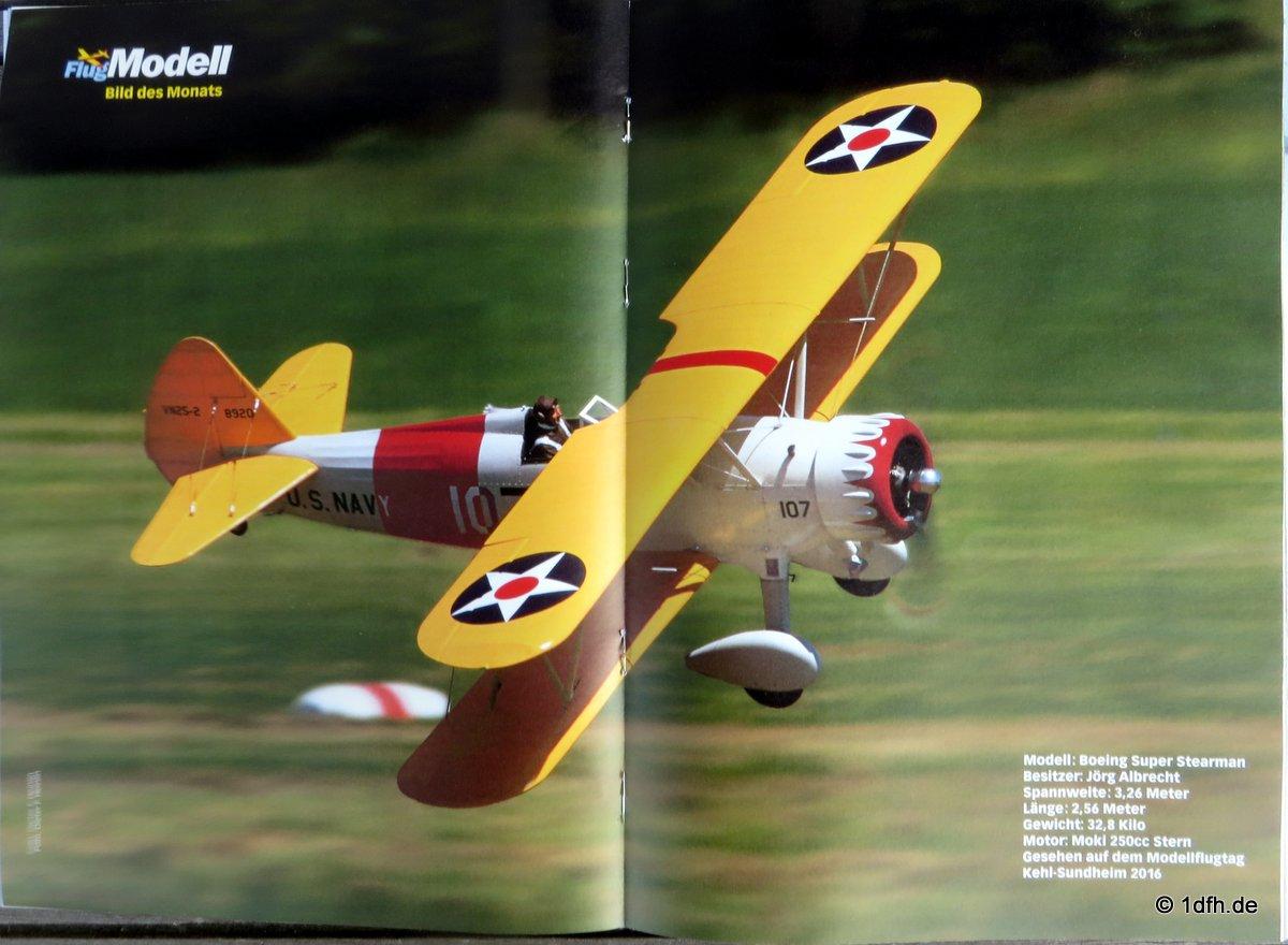 FlugModell 04/17 Boeing Super Stearman