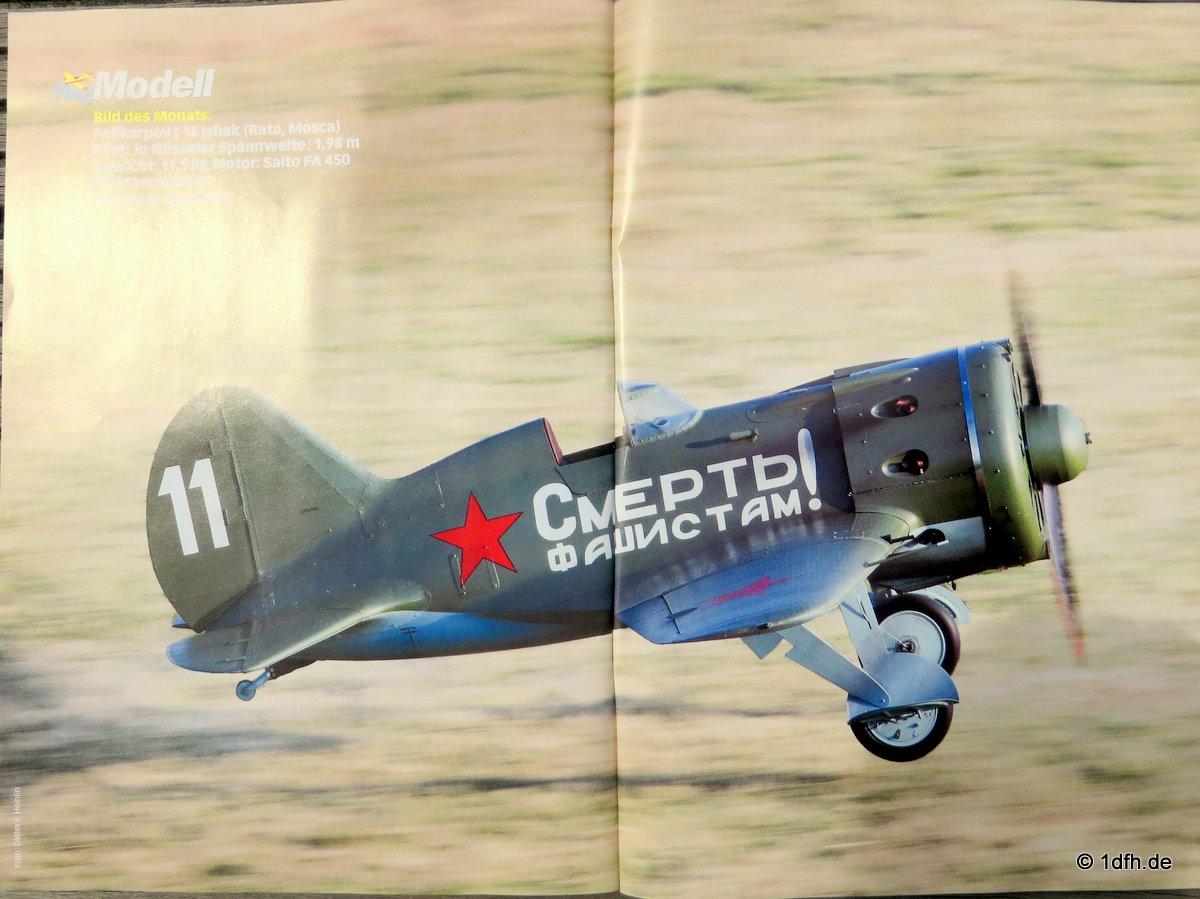 FlugModell 09/2014 Polikarpow I-16