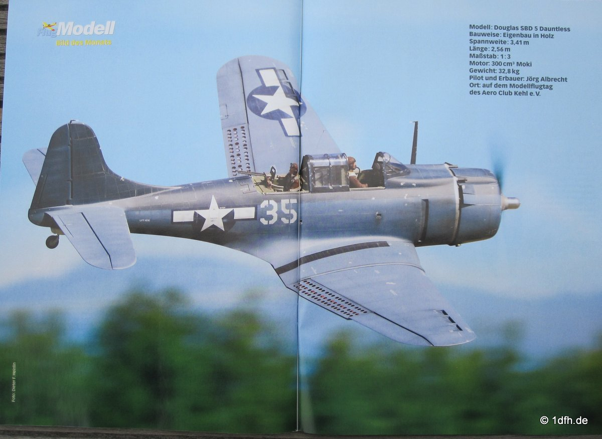 FlugModell 09/15 Dauntless