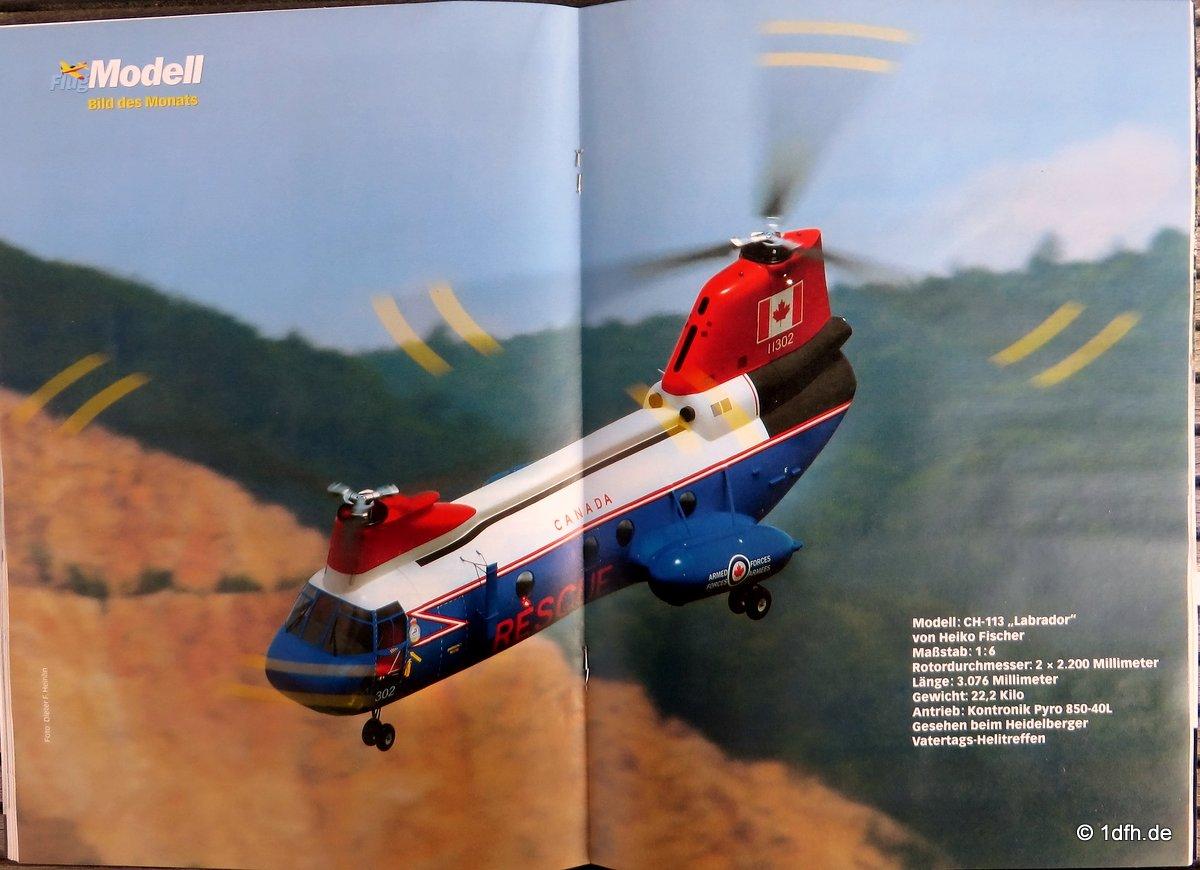 FlugModell 10/16 CH-113 Labrador