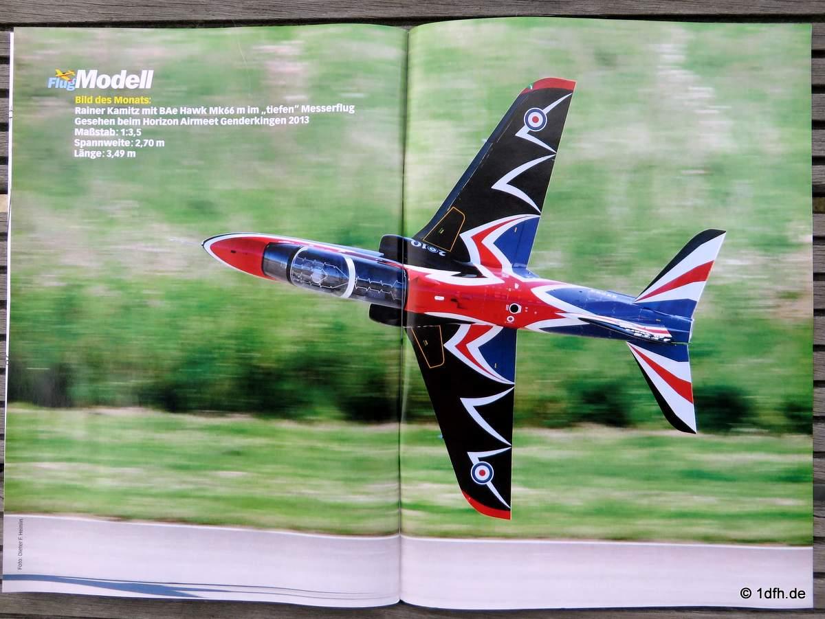FlugModell 10/2014 BAe Hawk Mk 66