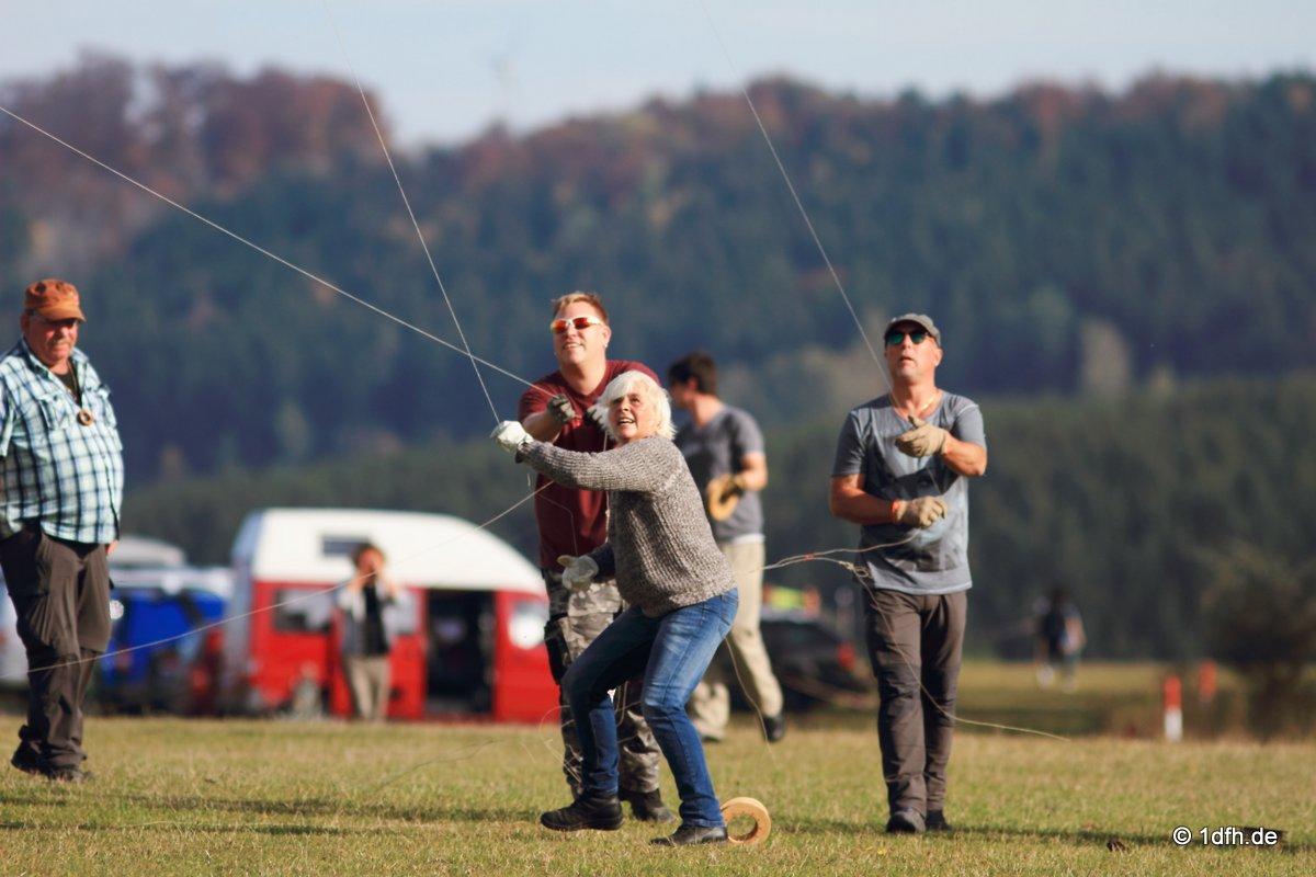 Drachenfest Luftsportverein Münsingen-Eisberg e.V. 24.10.2015