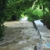 Echaz Hochwasser Pfullingen 02.06.2013