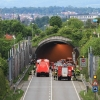 Großübung im Ursulatunnel Pfullingen 17.05.2014