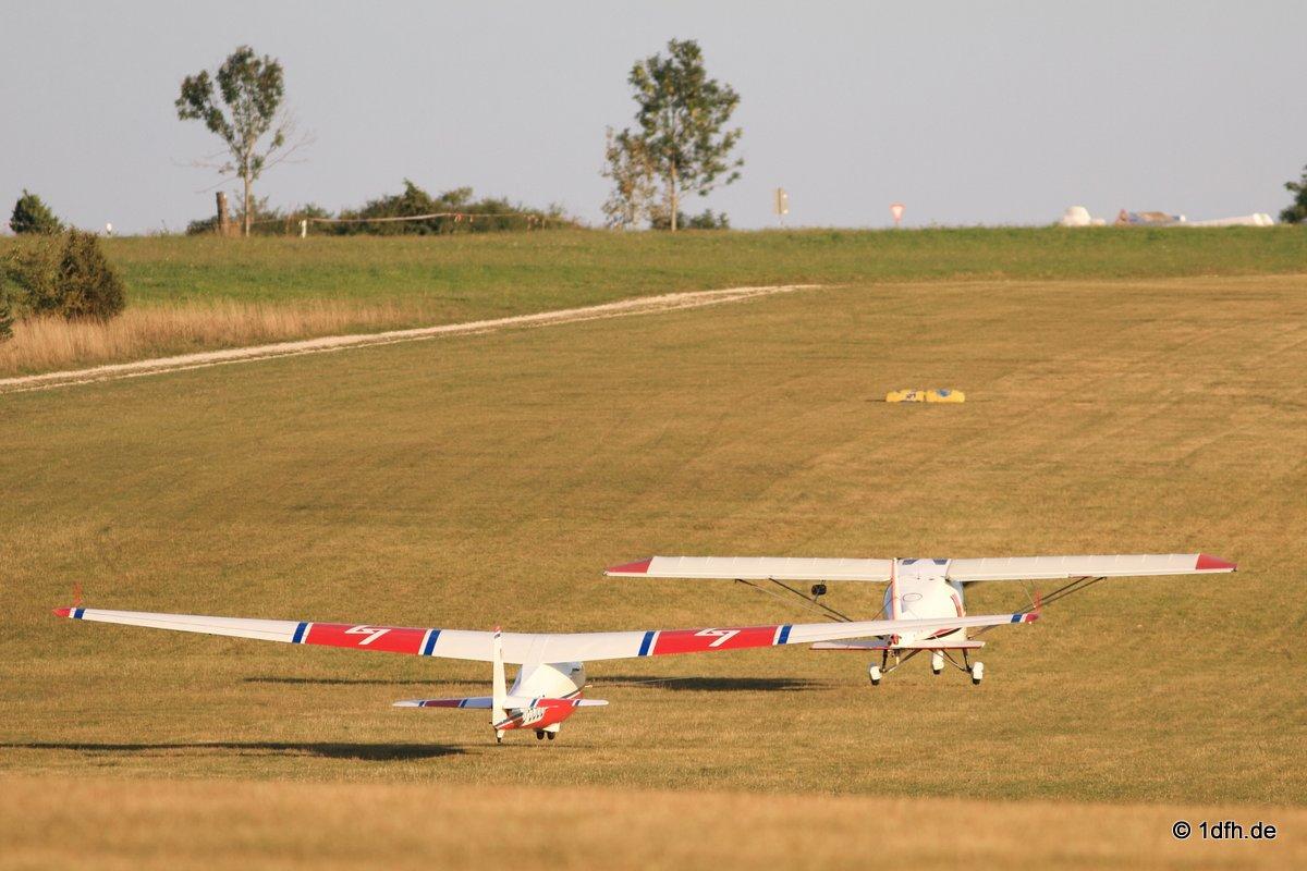 Holzfliegertreffen mit Flugplatzhock Hayingen 12.09.2015