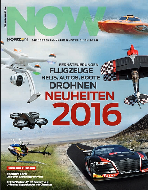Horizon Hobby Neuheiten 2016