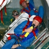 PERTH, AUSTRALIA - APRIL 12: Red Bull Air Race Pilots participate in underwater crash survival training at ERGT training facilities on April 12, 2010 in Perth, Australia.