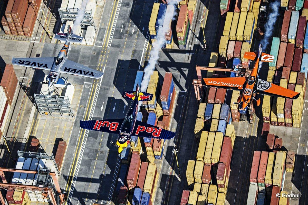 Air Race: Equipment-Test am Himmel über Gdynia