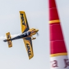 Matt Hall of Australia performs during the training for the second stage of the Red Bull Air Race World Championship in Rovinj, Croatia on April 11, 2014.