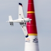 Matthias Dolderer of Germany performs during the training for the second stage of the Red Bull Air Race World Championship in Rovinj, Croatia on April 11, 2014.