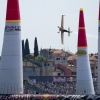 Matt hall of Australia performs during the finals of the third stage of the Red Bull Air Race World Championship in Rovinj, Croatia on May 31, 2015.