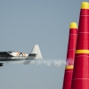 Hannes Arch of Austria performs during the finals of the third stage of the Red Bull Air Race World Championship in Rovinj, Croatia on May 31, 2015.