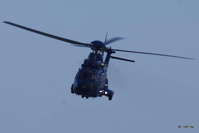 Super Puma Rettungsübung Friedrichshafen