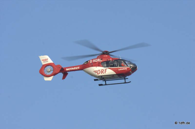 EC 135, Rettungsübung Friedrichshafen
