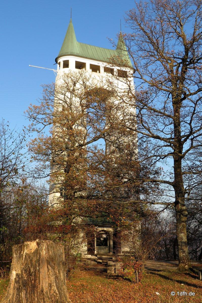 Schönbergturm Pfullingen 31.10.2013