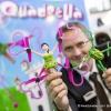 Es war einmal... Prinzessin kuesst Frosch. Einer der wenigen Quadrocopter fuer Maedchen - Quadrella mit Froschcopter von JAMARA