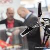 Der Dreiblatt-Heckrotor fuer die Modelle Forza700 und Sylphide e12 wird von JAPAN REMOTE CONTROL Co., Ltd. ausgestellt (The three-bladed tail rotor for the models Forza700 and Sylphide e12 from JAPAN REMOTE CONTROL Co., Ltd. are exhibited)