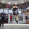 Der individuell anpassbare Quadrokopter M480L wird bei robbe Modellsport GmbH & Co. KG bei einer Flugshow vorgefuehrt (The individually customised Quadrokopter M480L is demonstarted by Robbe Modellsport GmbH & Co. KG at an airshow)