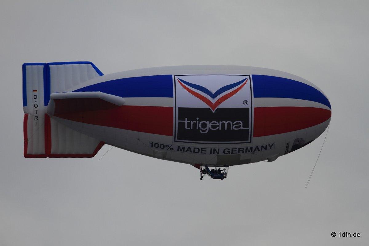 Trigema Luftschiff  Metzingen 23.10.2016