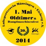 30. Oldtimer- und Dampfmaschinenfest auf den Eisberg 01.05.2014