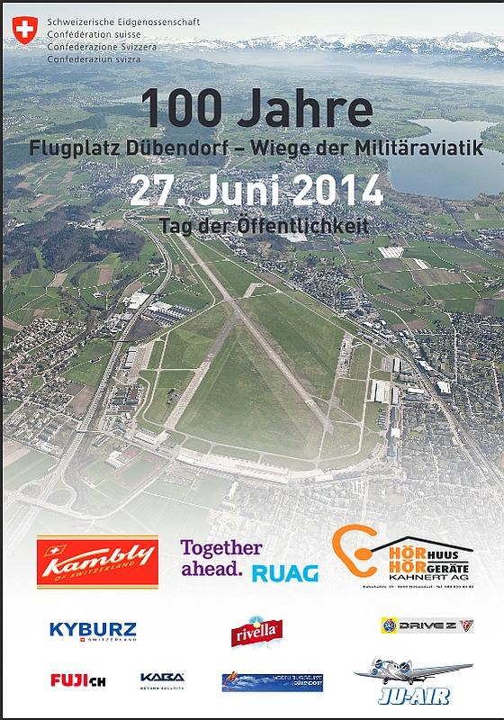 100 Jahre Flugplatz Dübendorf