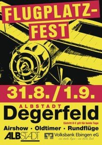 Flugplatzfest Degerfeld 2013