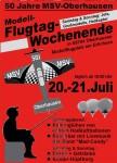 Flugtagwochenende Oberhausen 20.07. – 21.07.2013