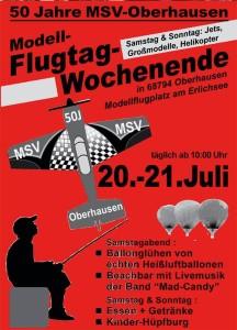 Modellflugwochenende beim MSV-Oberhausen