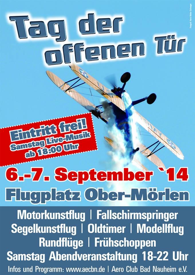 Tag der offenen Tür Aero-Club Bad Nauheim e.V. 2014