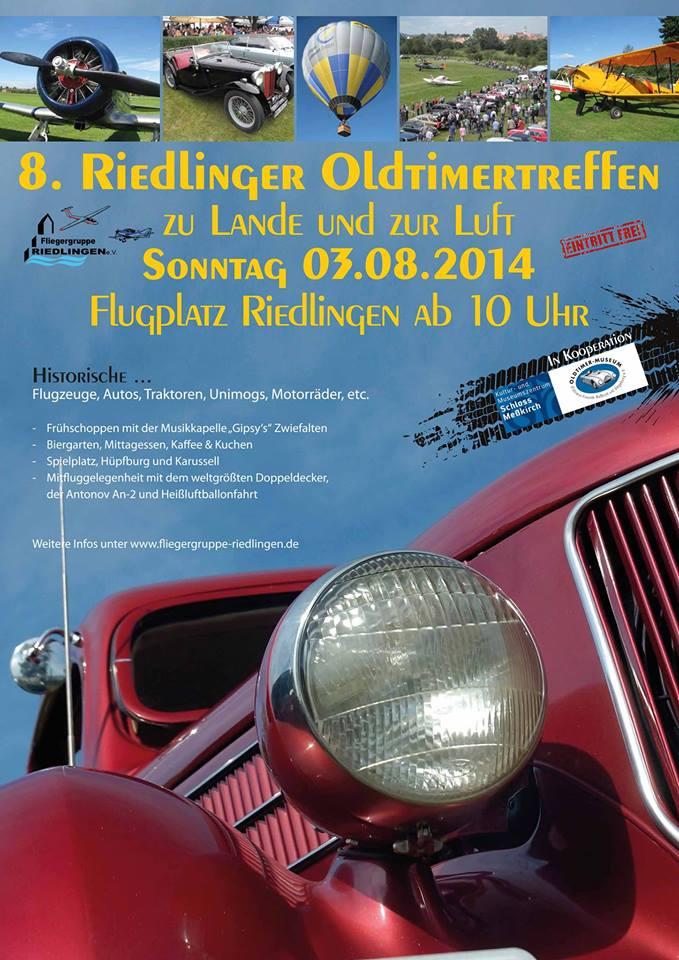 8. Riedlinger Oldtimertreffen 2014