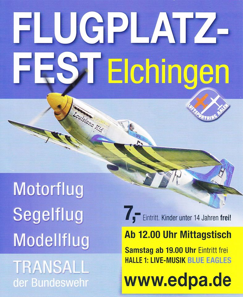 Flugplatzfest Elchingen 2014