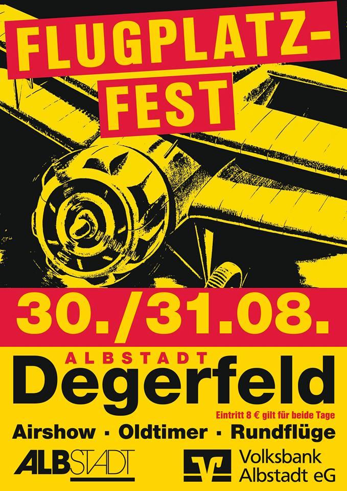 Flugplatzfest Degerfeld 2014