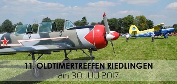 11. Oldtimertreffen Zu Lande und zur Luft Flugplatz Riedlingen 30.07.2017