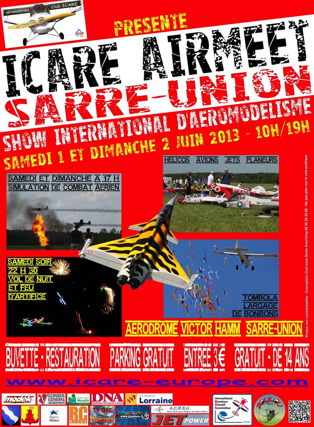 Icare Airmeet 2013