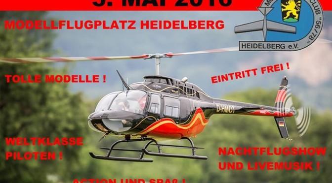20. Heidelberger Vatertags-Helitreffen 05.05.2016