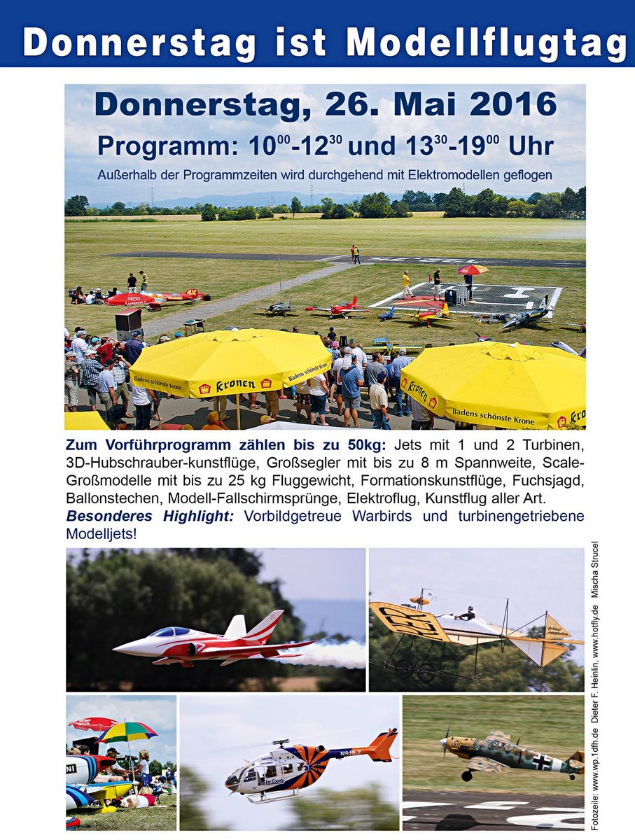 Kehler Flugtage 26.05. - 29.06.2016