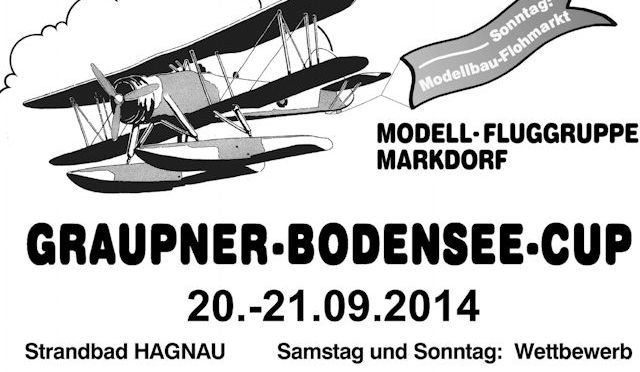 36. Graupner Bodensee-Cup 20.09. – 21.09.2014
