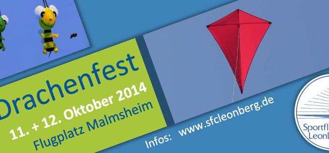 21. Drachenfest Malmsheim 11.10 – 12.10.2014