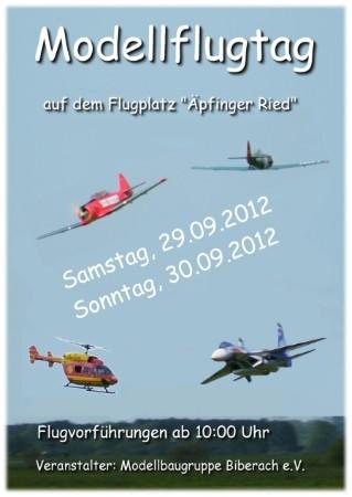 Modellflugtag 2012 MBG Biberach e.V.